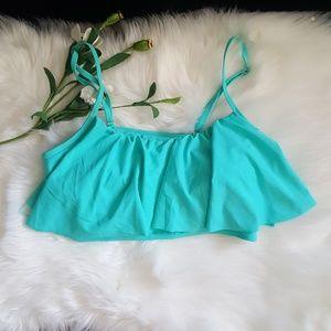 Other - 💥Summer Clearance💥 Bikini Top Skirt Ruffle